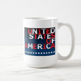 Happy Birthday USA Coffee Mug