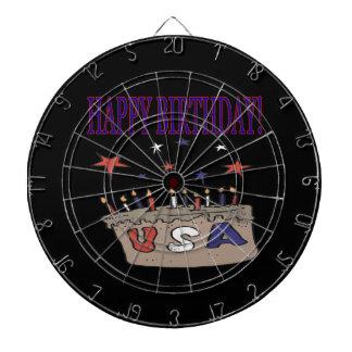 Happy Birthday USA Dart Boards