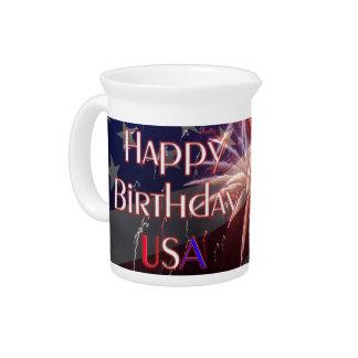 Happy Birthday USA Pitcher