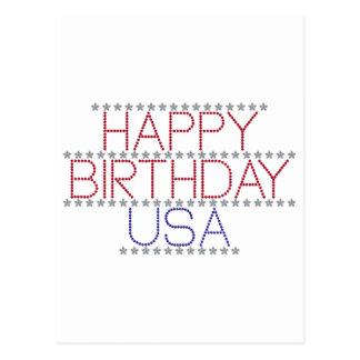 happy-birthday-usa postcard
