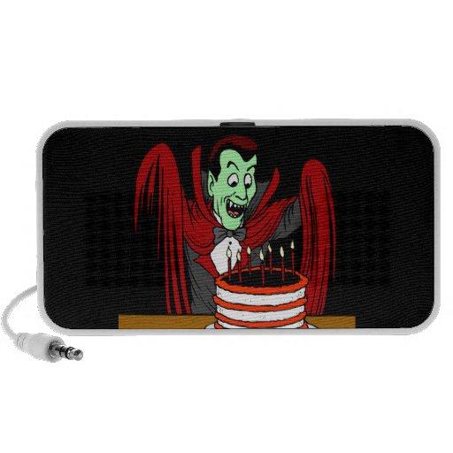 Happy Birthday Vampire Notebook Speaker