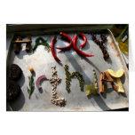 Happy Birthday Vegetables Card