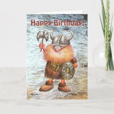 Поздравления викингов с днем рождения 57