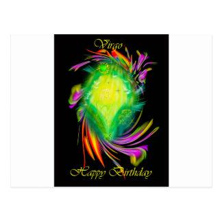 Happy Birthday Virgo Postal
