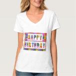 HAPPY BIRTHDAY : Vneck choice SHIRT