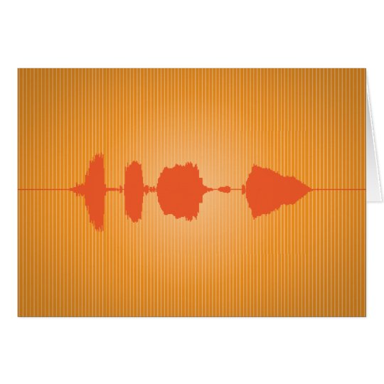 Happy Birthday Waveform Folding Card 3