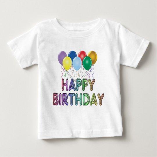 Happy Birthday with Balloon T-Shirt