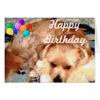 Happy Birthday with Joey Card