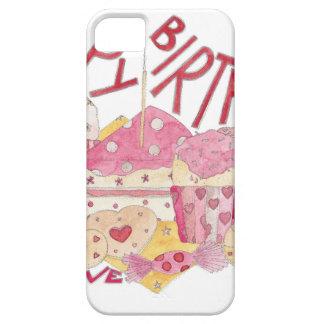 Happy Birthday With Love iPhone SE/5/5s Case