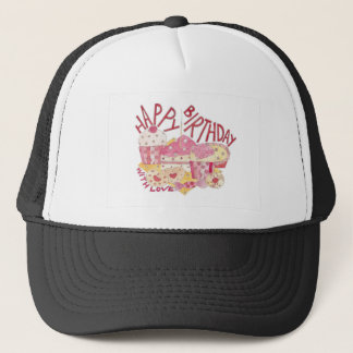 Happy Birthday With Love Trucker Hat