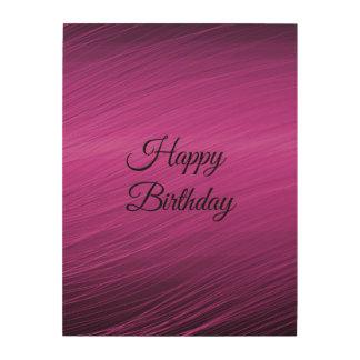 Happy Birthday Wood Prints