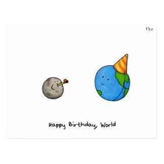 Happy Birthday World - Rosh Hashanah Post Cards