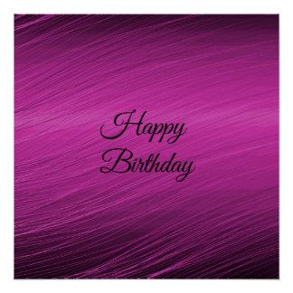 Happy Birthday Perfect Poster