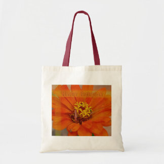 Happy Birthday - Zinnia  Bag