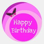 Happy Birthdayby Kelassa Round Sticker