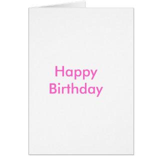 Happy BirthdayCard Greeting Card