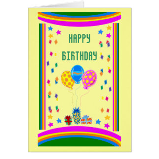 Happy BirthdayCard Card