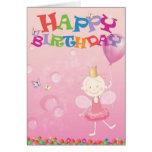 Happy birthdaycard Prisma Hälsnings Kort