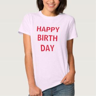 Happy Bithday Tshirt