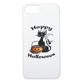 Happy Black Cat iPhone 7 Case