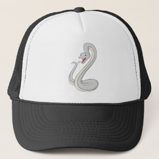 Happy Black Mamba Snake Trucker Hat