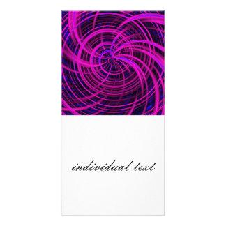Happy, black pink (C) Card