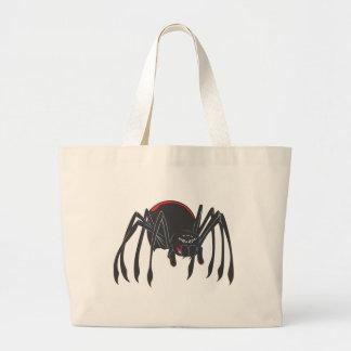 Happy Black Widow Spider Bags