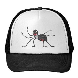 Happy Black Widow Spider Hat