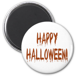 Happy Bloody Halloween Magnet