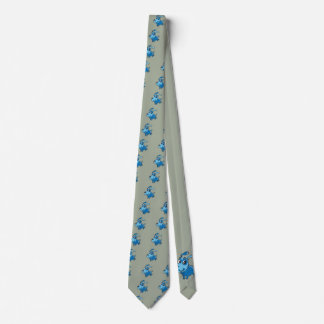 Happy Blue Dog Tie
