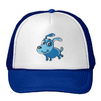 Happy Blue Dog Trucker Hat