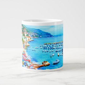 Happy Blue Harbor ~ Jumbo 20 oz. Mug