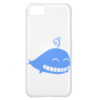 Happy Blue Whale iPhone 5C Cover