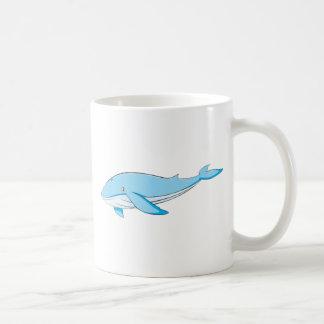 Happy Blue Whale Coffee Mug