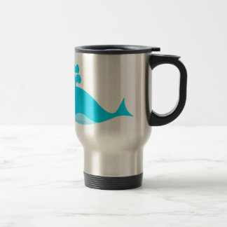 Happy Blue What 15 Oz Stainless Steel Travel Mug