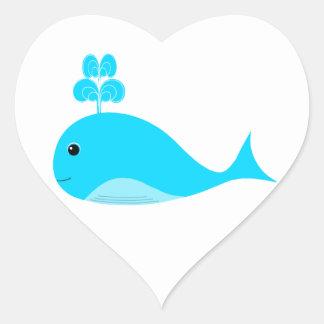 Happy Blue What Heart Sticker