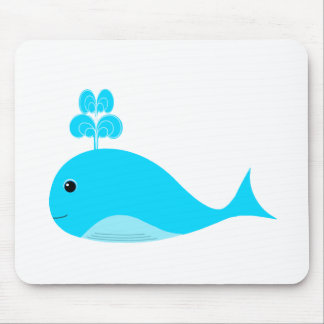 Happy Blue What Mouse Pad