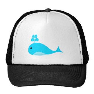 Happy Blue What Trucker Hat