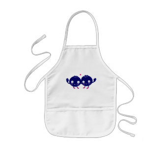 Happy Blueberry BFFs Kids' Apron