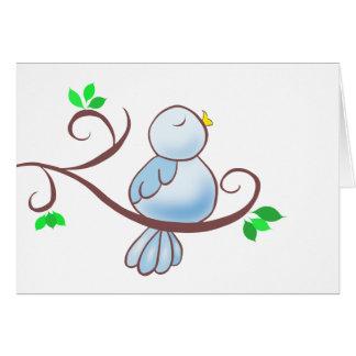Happy Bluebird Card