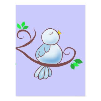 Happy Bluebird Postcards