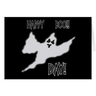 Happy Boo Day Ghost Card