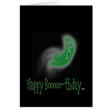 Halloween Themed Happy Booooo-thday.... Card