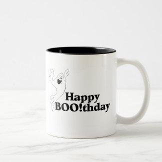 Happy Boothday Two-Tone Coffee Mug