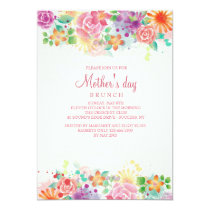 Happy Border Mother's Day Invitation