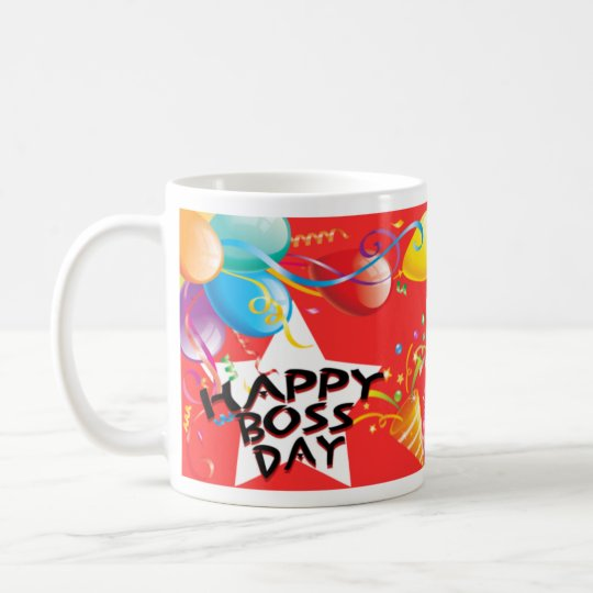Happy Boss Day Coffee Mug
