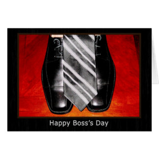 Happy Boss s Day Greeting Card