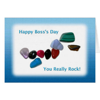 Happy Boss s Day You Really Rock Cards