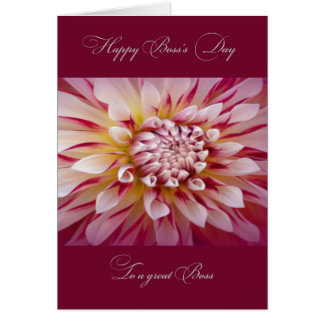 Happy Boss's Day for Female Boss Card