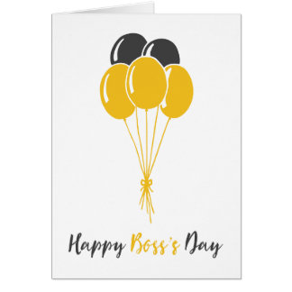 Happy Boss's Day Greeting Card